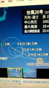 181022 台風26