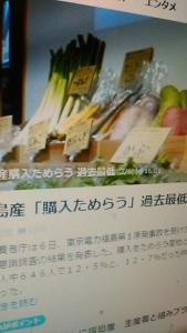190307 福島県産農産物