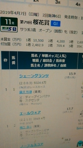 190406 桜花賞