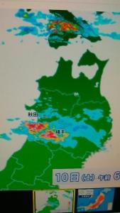 190810 秋田で豪雨