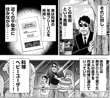 ハンチョウ53話 黒服牧田