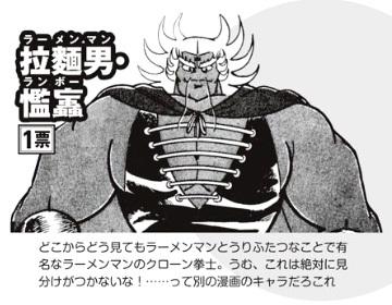 キン肉マン超人総選挙2019 拉麺男ランボー