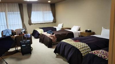 4/30 ホテルの部屋  源泉湯の宿千の谷 猿ヶ京温泉