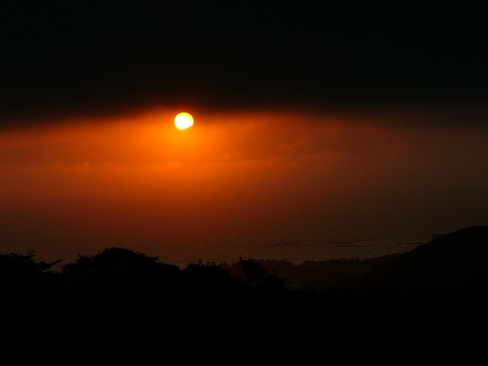 陽が沈む200709P1050195