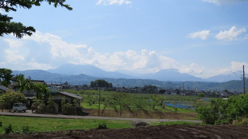 38四山と火打山