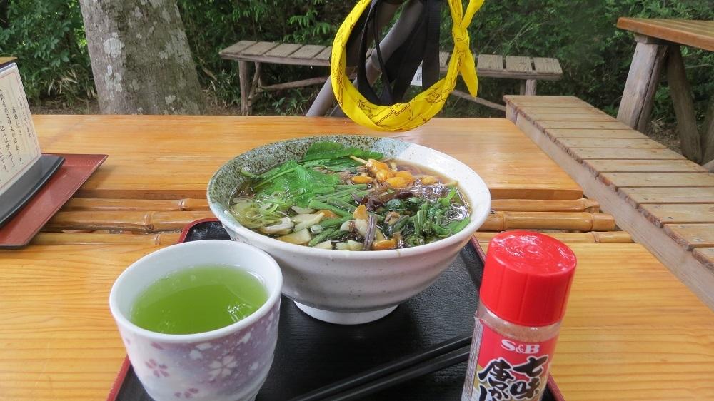 山菜そばIMG_4016