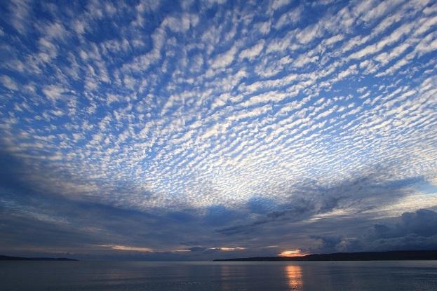 佐和田海岸夕景