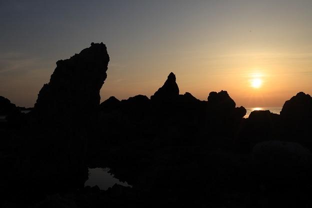 七浦海岸夕景1