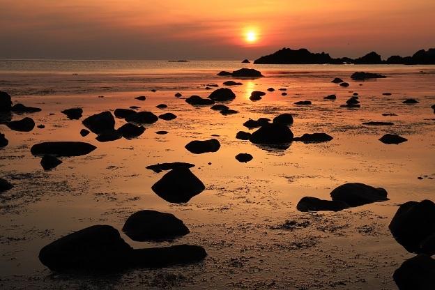 七浦海岸夕景2