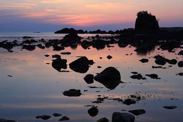 七浦海岸夕景3