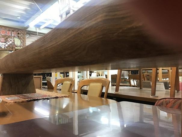 ACTUS特大天然木テーブル (7)