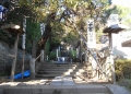 杉本寺・入口の石段