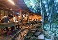 竹林の茶室