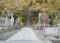 頼朝の墓・入口