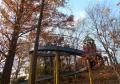 西ノ原中央公園・らせん状の滑り台