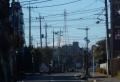 大井地区から見る富士