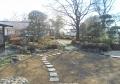御殿内の庭