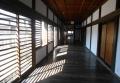 御殿内の廊下