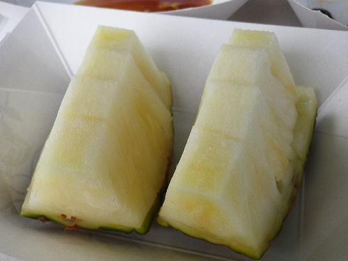 試食(ハニークリームパインアップル)