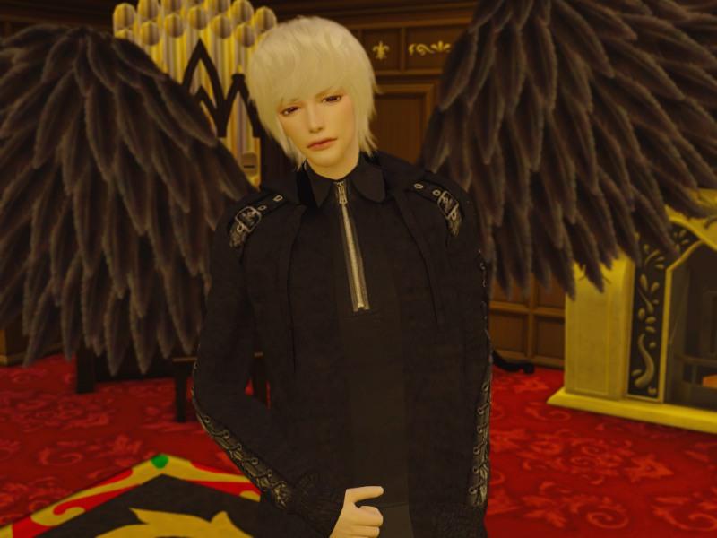 〔Sims4〕「シャドウハンター」堕天使ジョナサン