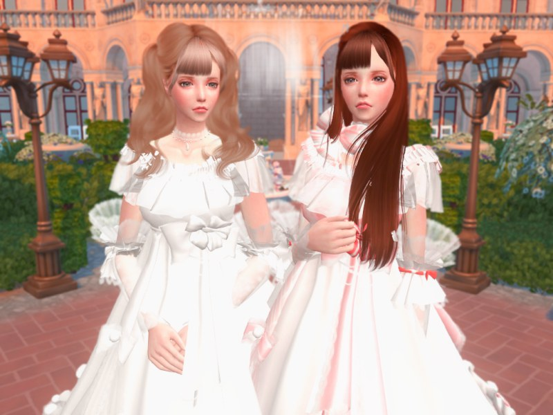 〔Sims4〕『Re:Birth』&『Crowns』のお姫さま