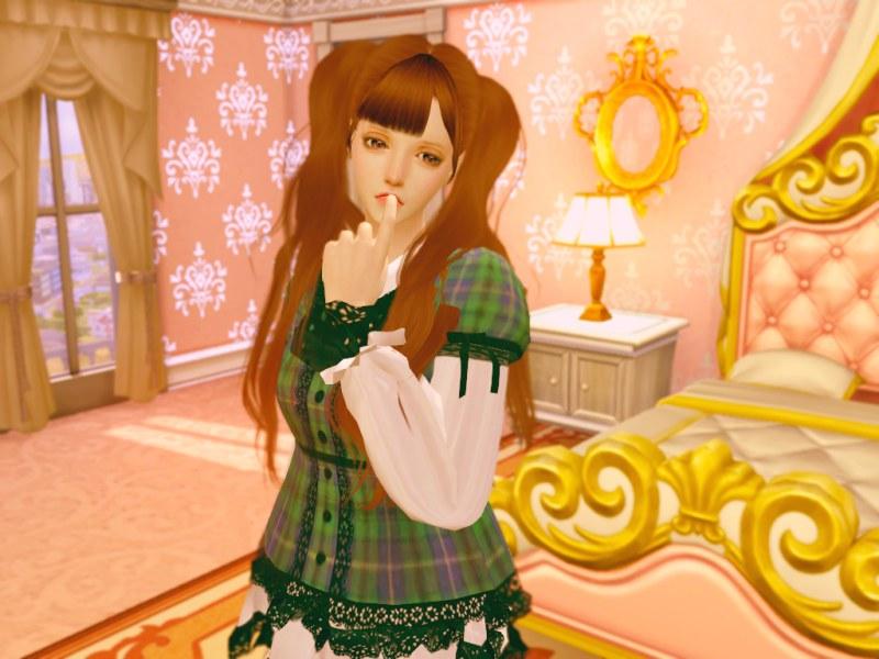 〔Sims4〕ロリータ・ミニドレス