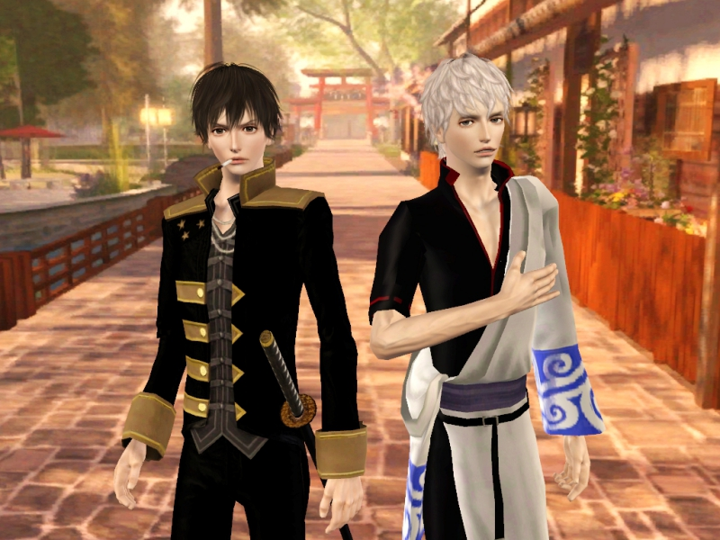 〔Sims3〕「銀魂」銀さん&土方