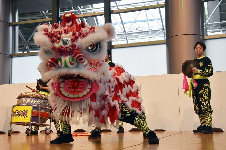 神戸国際19・獅子舞 (1)