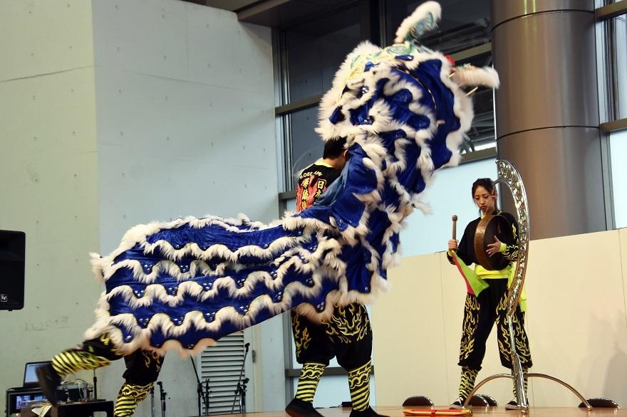 神戸国際19・獅子舞 (2)
