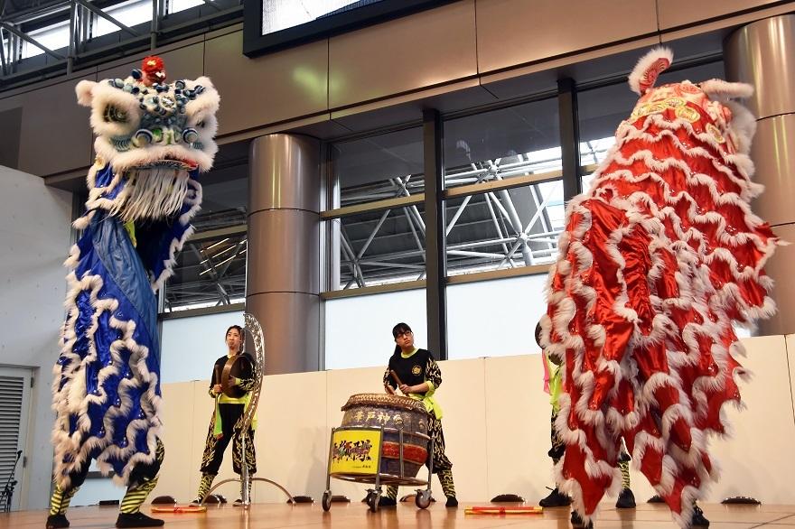神戸国際19・獅子舞 (3)