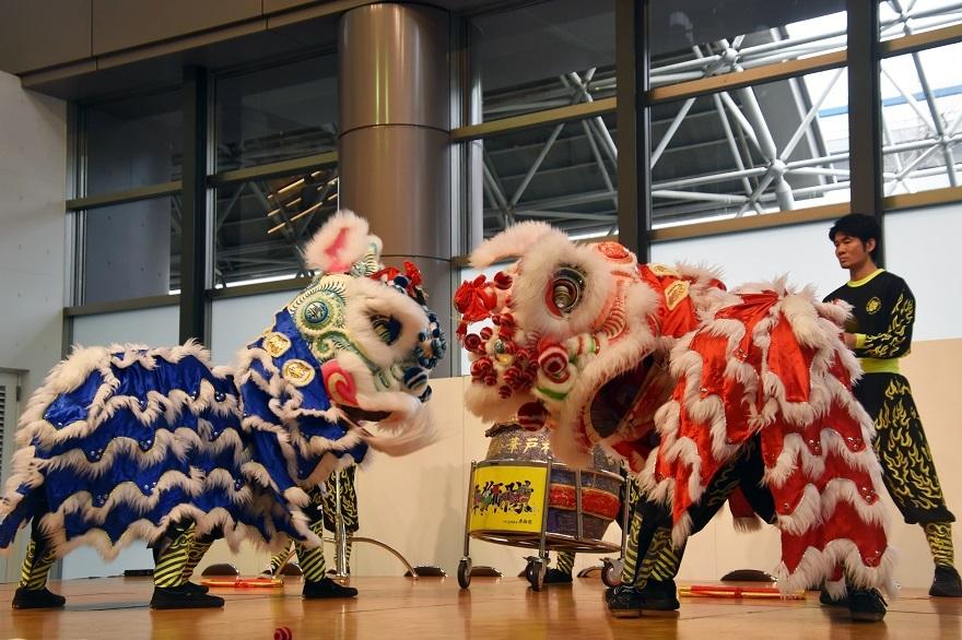 神戸国際19・獅子舞 (4)