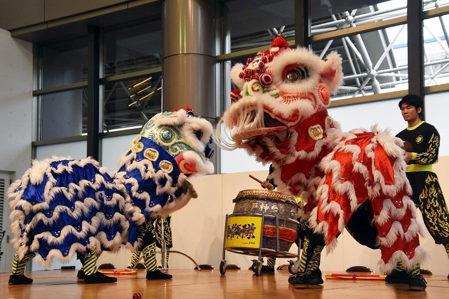 神戸国際19・獅子舞 (5)