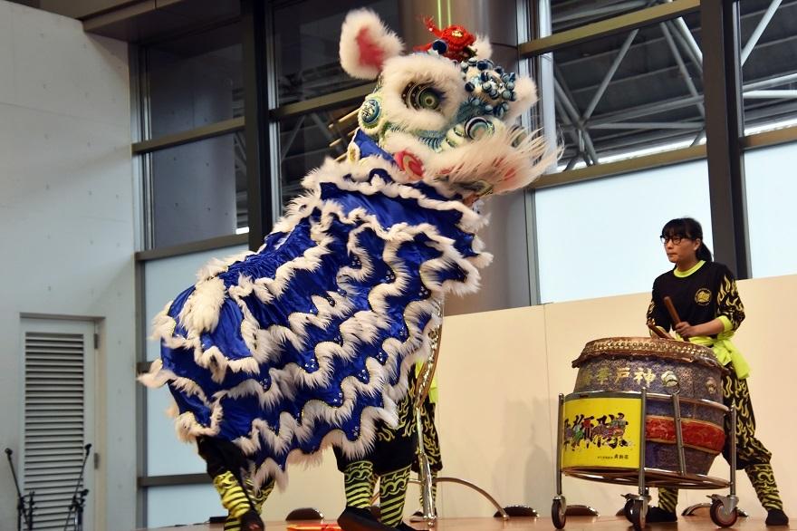 神戸国際19・獅子舞 (6)