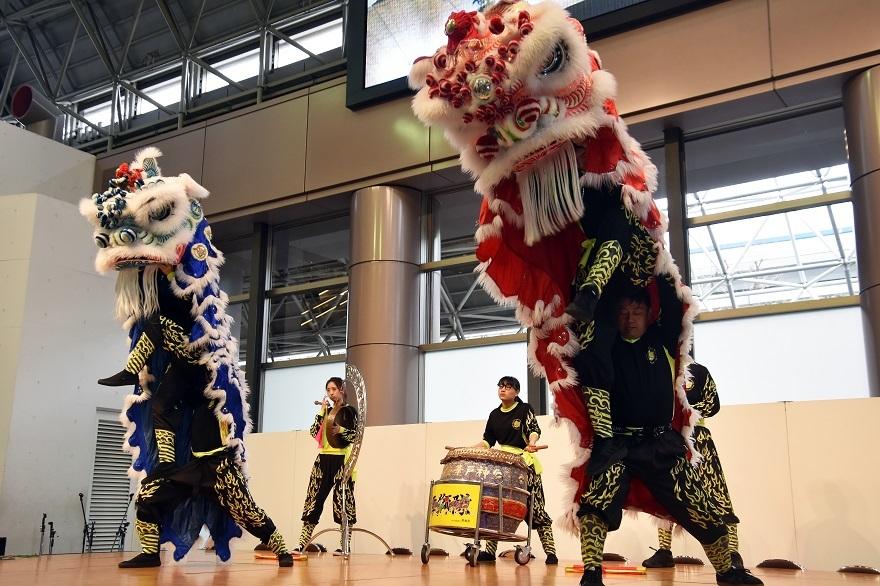 神戸国際19・獅子舞 (7)