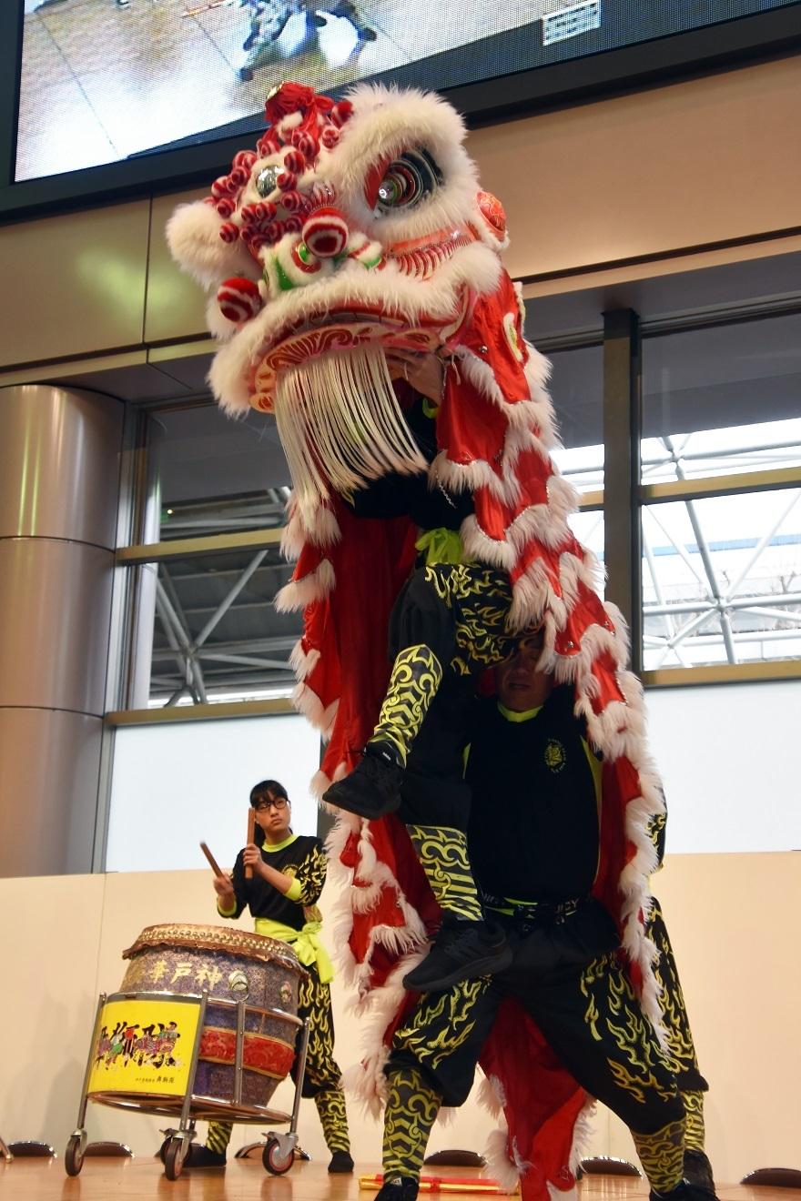 神戸国際19・獅子舞 (8)