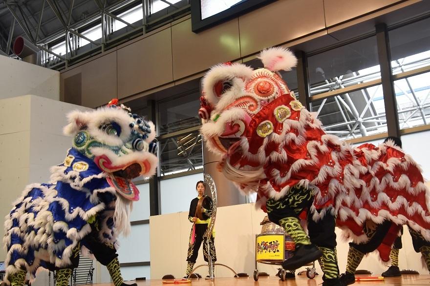 神戸国際19・獅子舞 (9)