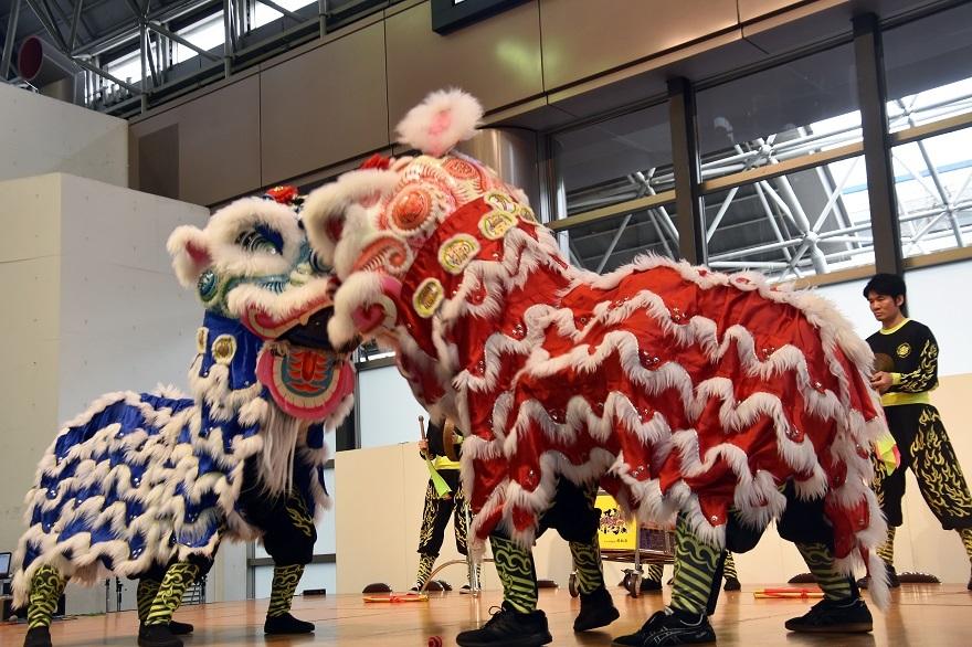 神戸国際19・獅子舞 (10)