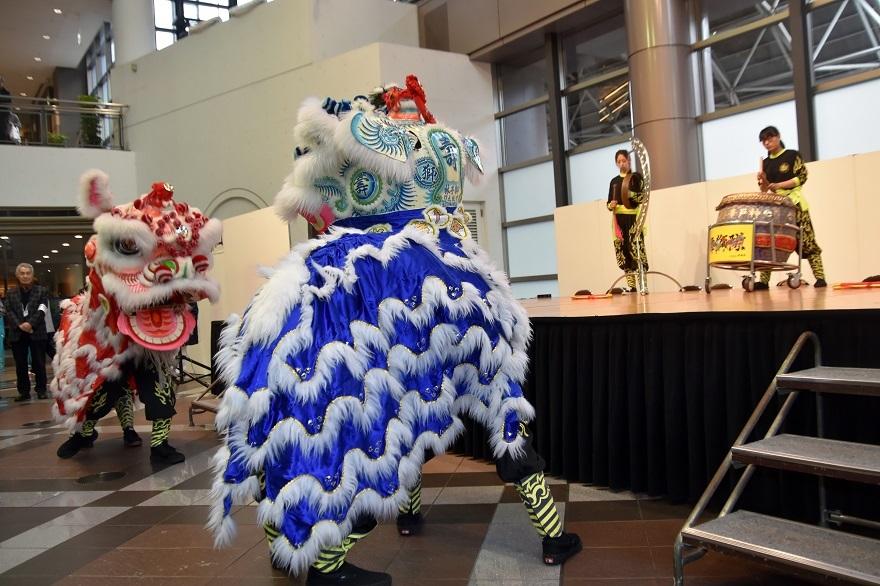 神戸国際19・獅子舞 (15)