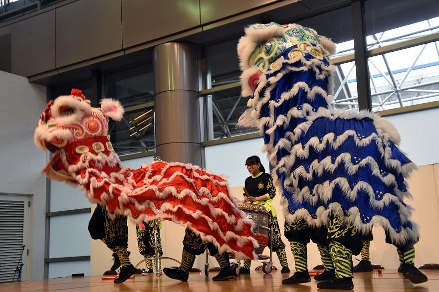 神戸国際19・獅子舞 (16)