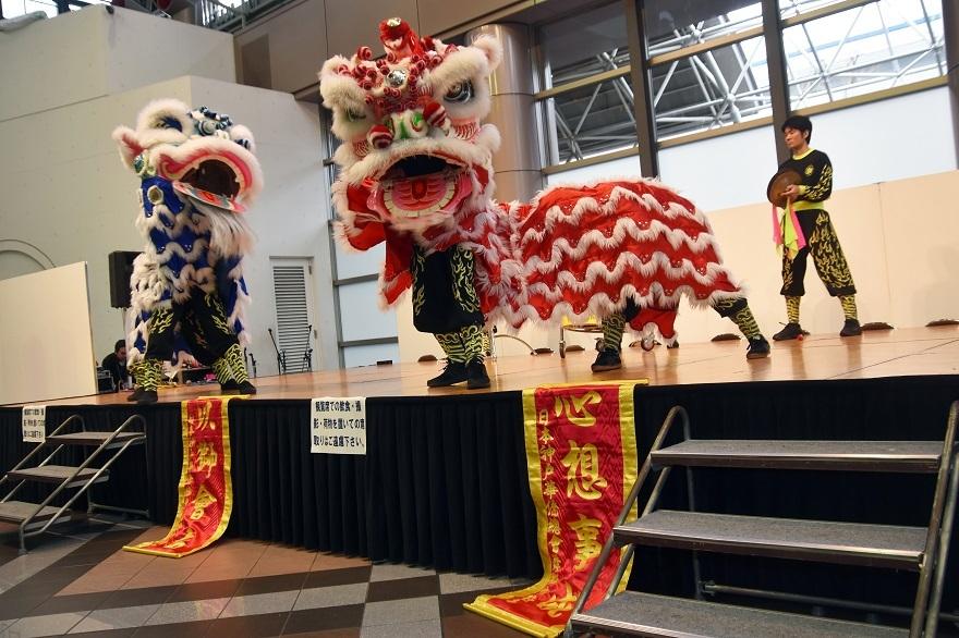 神戸国際19・獅子舞 (18)
