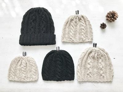 knit白黒