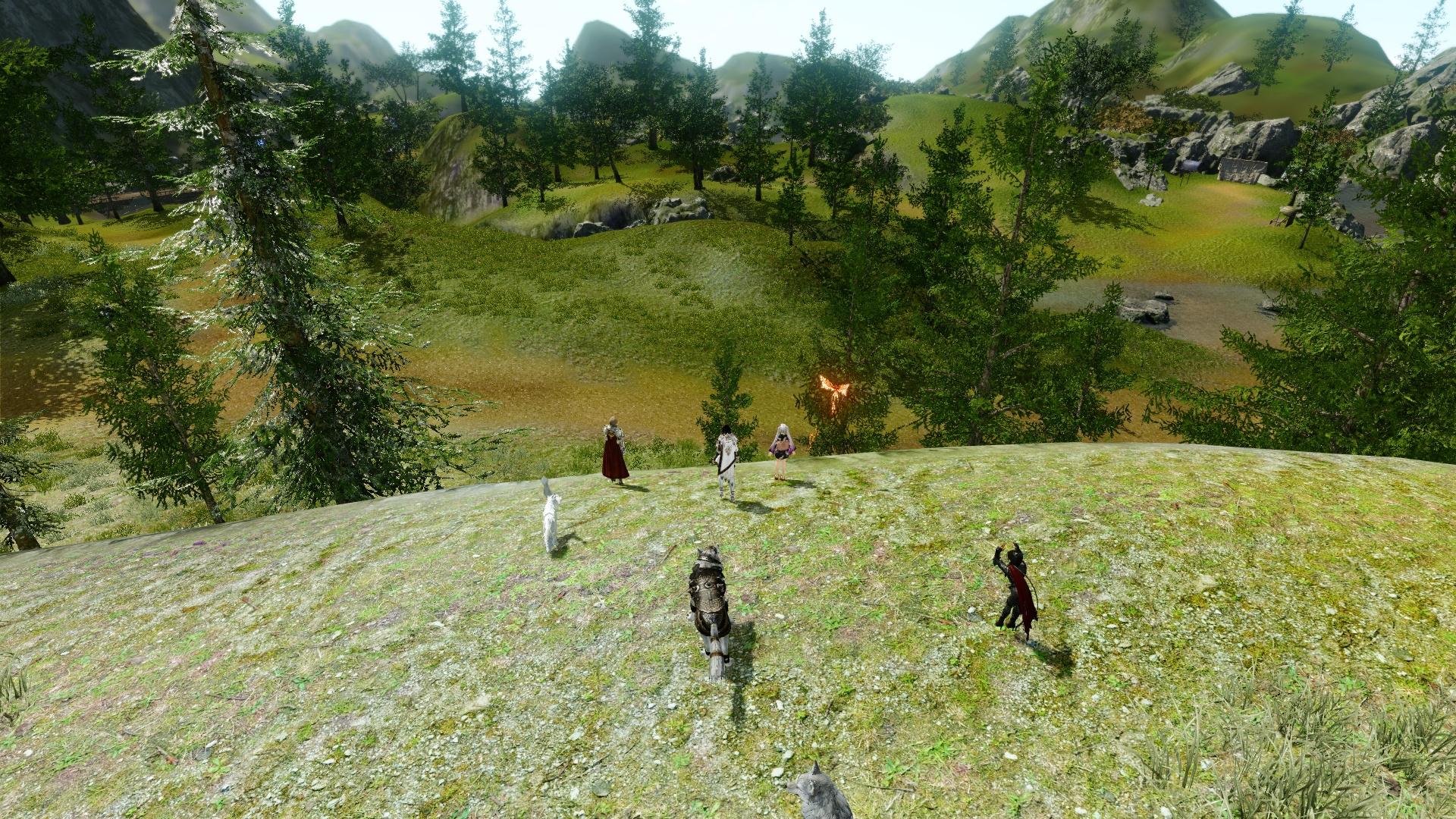 04 雪景色と緑の共存