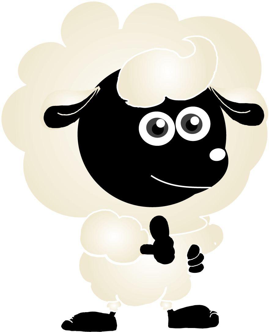 羊イラスト -L2