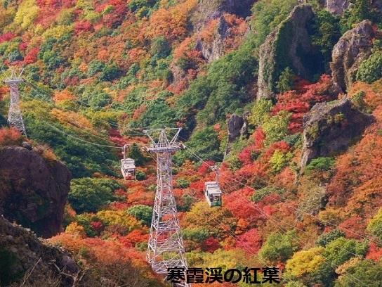 寒霞渓紅葉