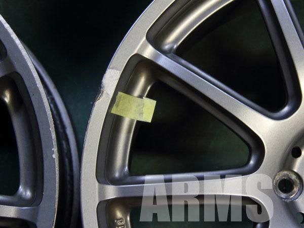 プロドライブの鍛造アルミホイールを修理