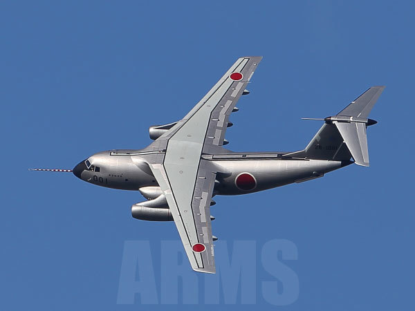 岐阜基地航空祭2018 事前訓練で飛ぶC-1(FTB)