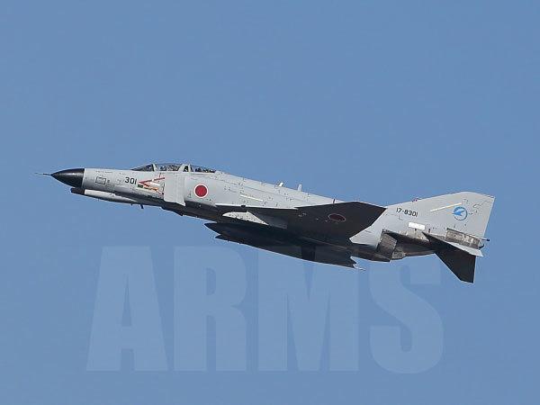 F-4ファントム 301号機 岐阜基地にて