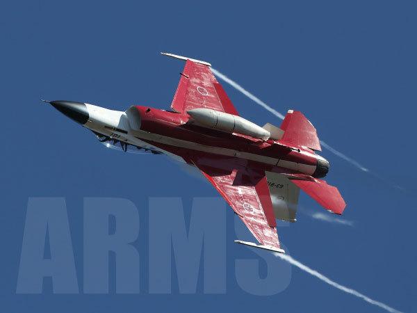複座型の戦闘機 F-2B