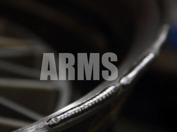 アルミ溶接で削れた部分を修理