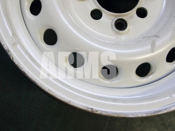 ホイールのディスクの傷を修理